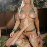 Abbey Brooks & Dylan Ryder are Two Horny Camouflaged Lesbians 05