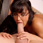 Horny Milf Lisa Ann as Sarah Palin Riding Cock in the Kitchen 07