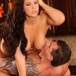 Busty Brunette Babe Alison Tyler Fucked in the Kitchen 10