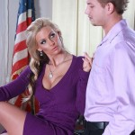 Cougar Phoenix Marie Quickly Goes From All Business to All Nasty 01