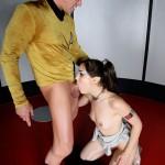 Sasha Grey as a Vulcan Fucks Captain Kirk 21